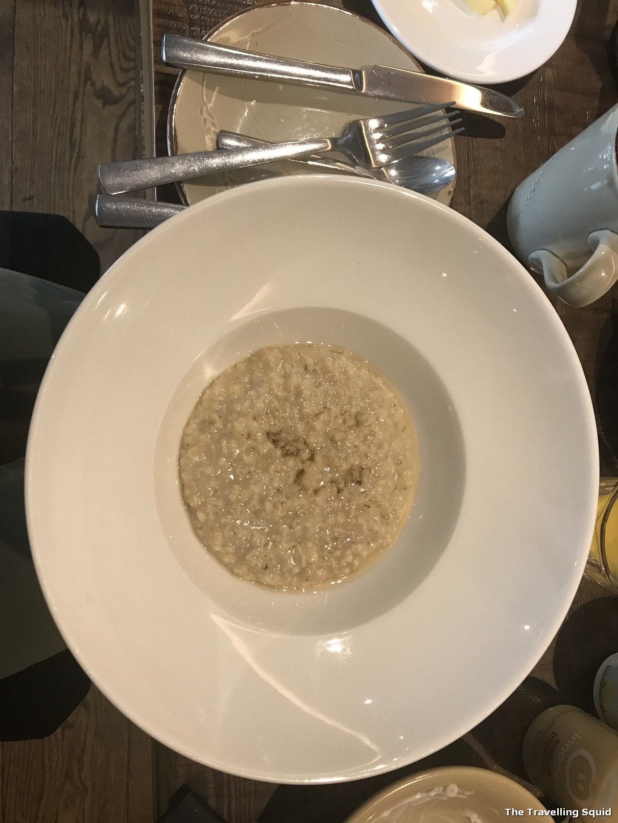 scottish porridge bosville hotel breakfast isle of skye
