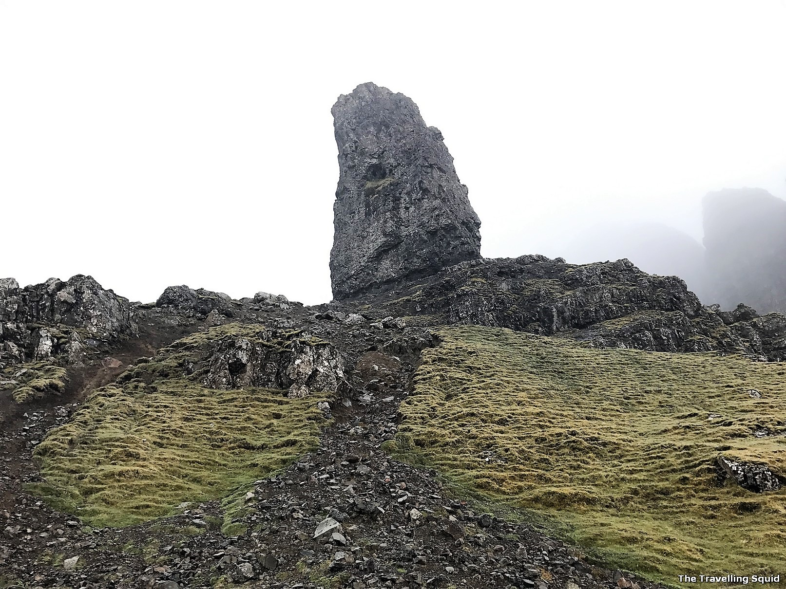 trekking the old man of storr isle of skye
