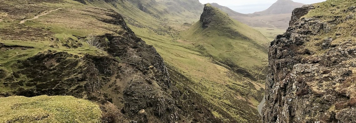Quiraing isle of skye scotland