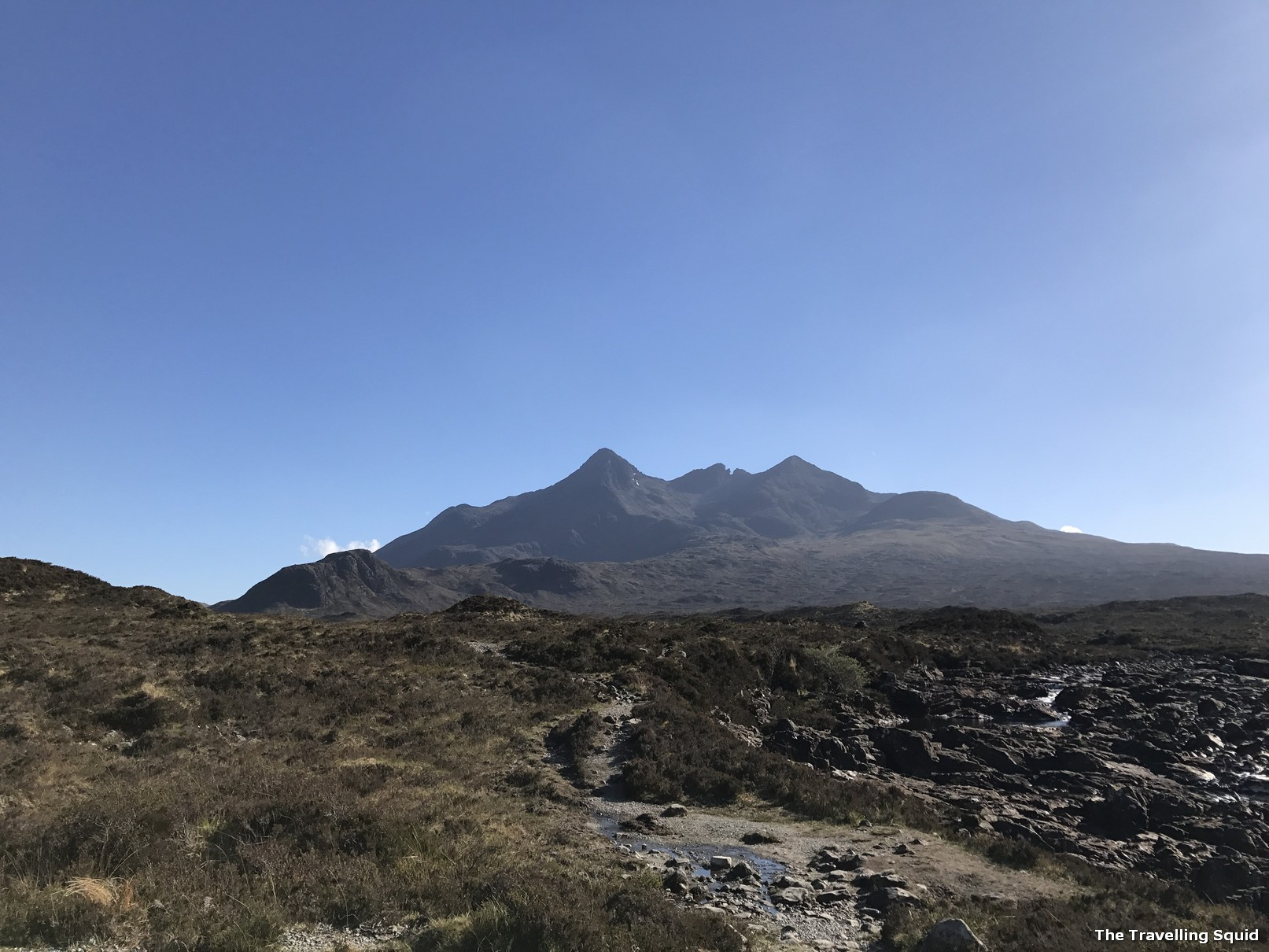Planning a two day itinerary in Isle of Skye cuillin special protection area