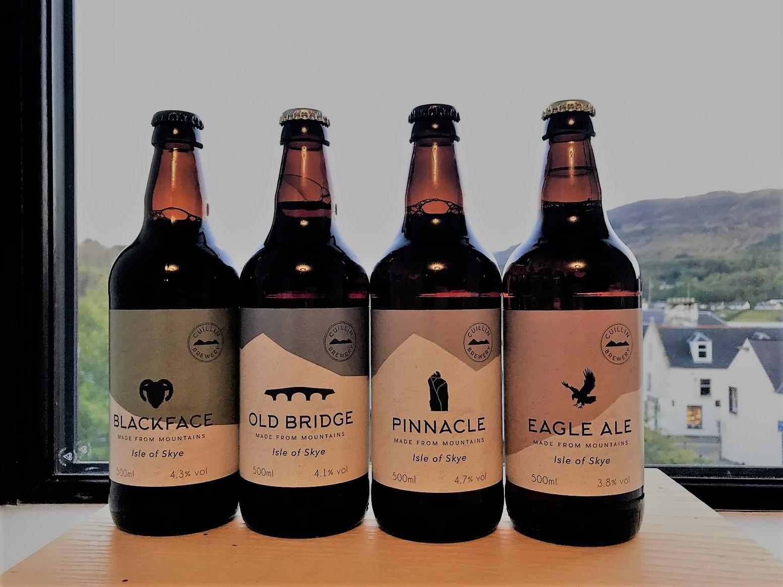 Review craft beer cuillin brewery isle of skye
