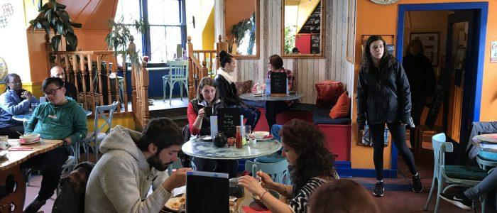 Visit Cafe Arriba in Portree Isle of Skye