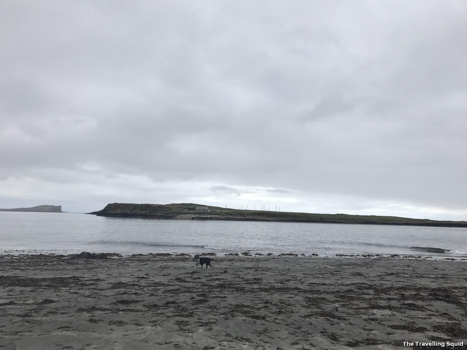 an corran beach isle of skye quiraing