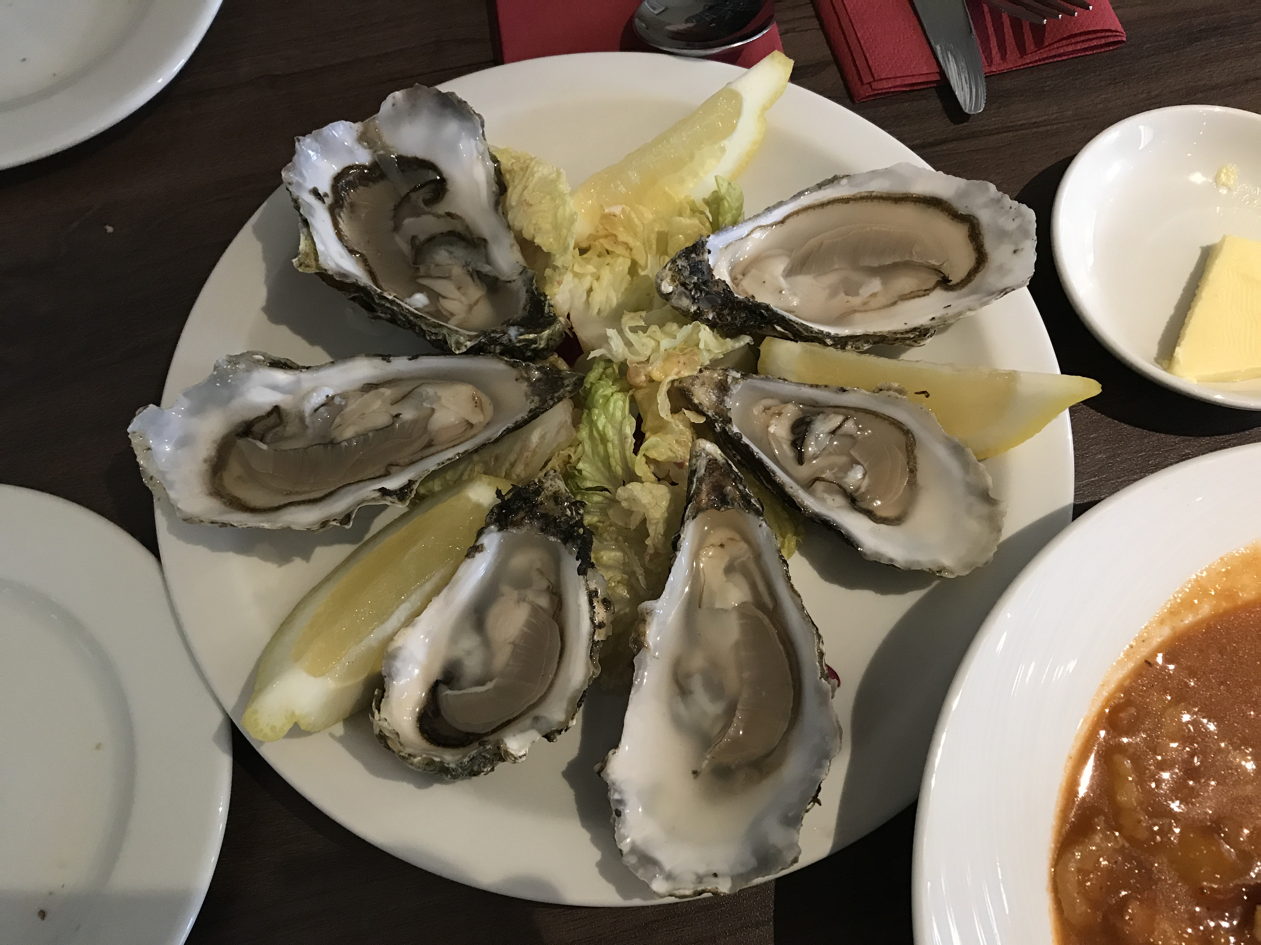 review cuchullin restaurant portree oysters