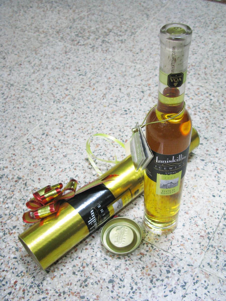 Ice wine inniskillin