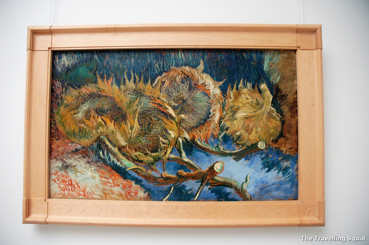 Vincent Van Gogh museum Four Sunflowers Gone to Seed