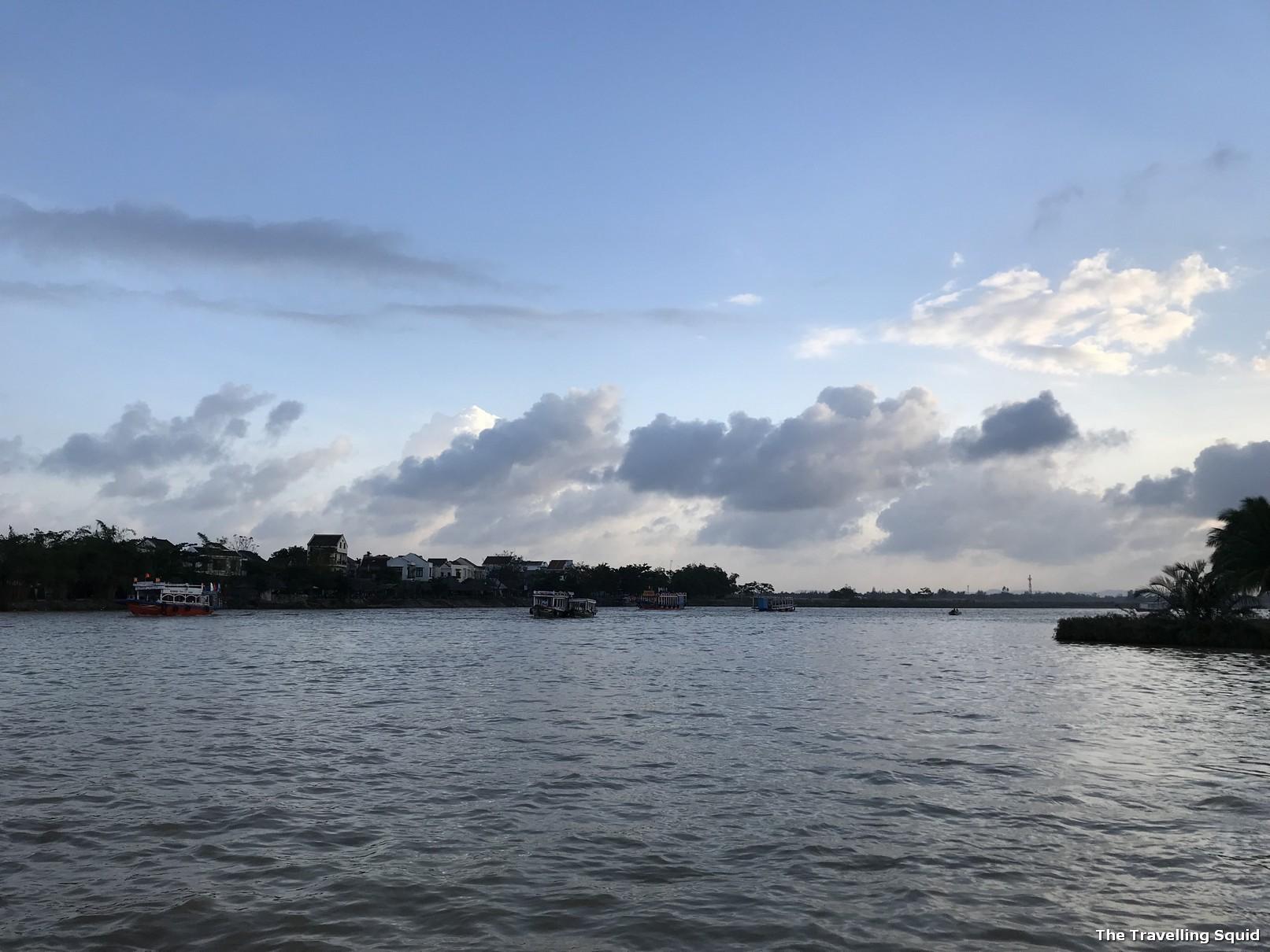 hoi an anicent town Thu Bon River