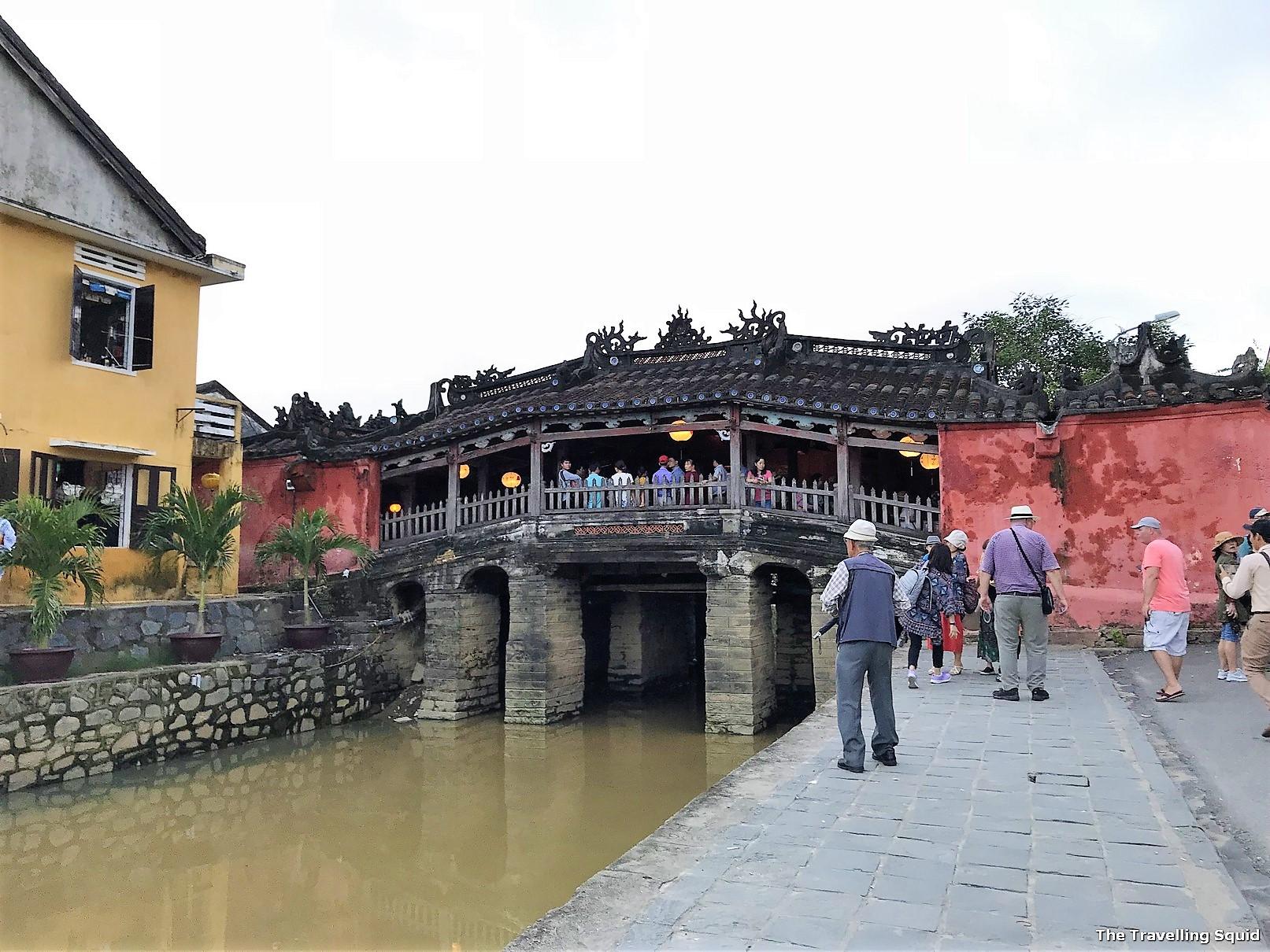 hoi an Japanese bridge world heritage site