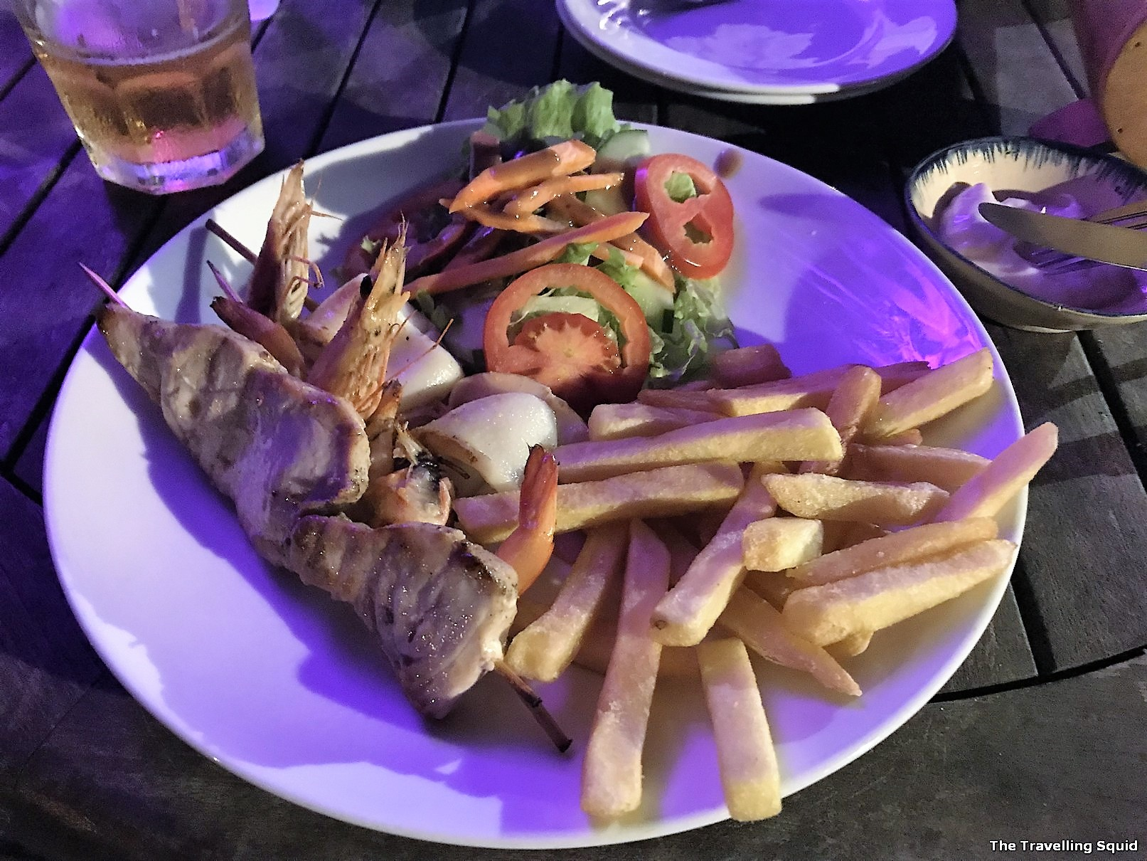 Soul Kitchen hoi an seafood skewers