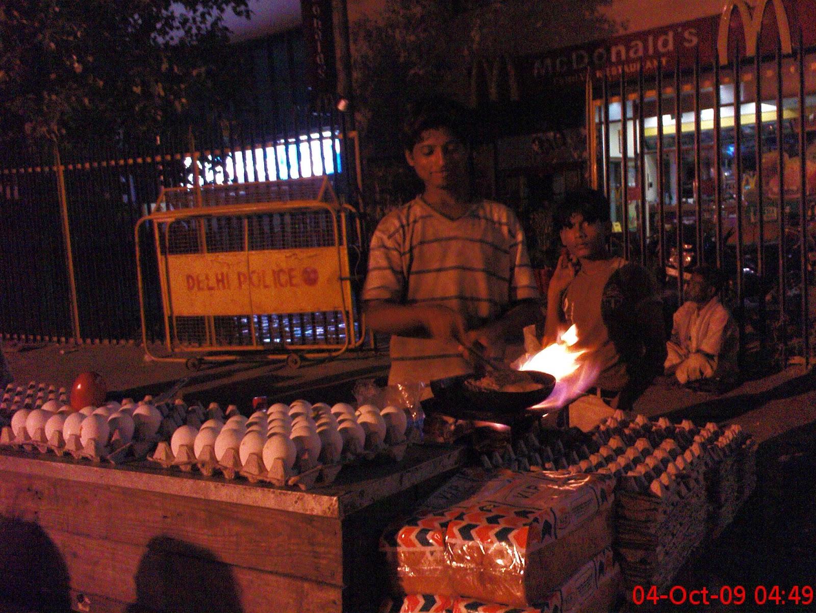 Delhi kashmiri gate best breakfast