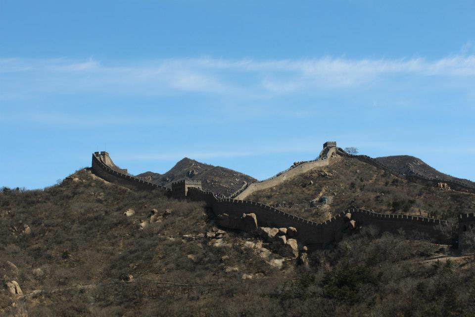 The Great Wall of China, from Ba Da Ling