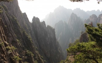 mount huangshan valley