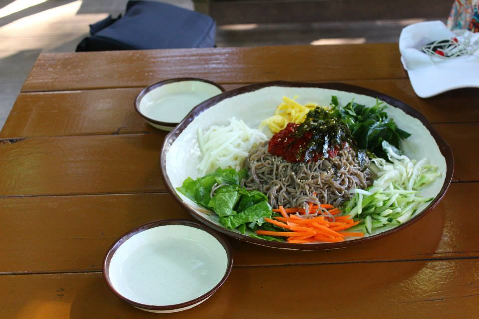 buckwheat noodles nami island