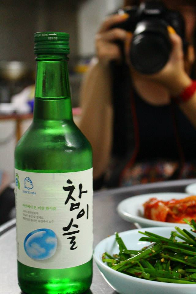 korean soju pakimchi