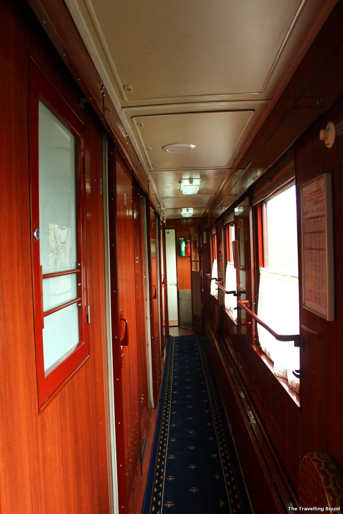 Trans Siberian first class