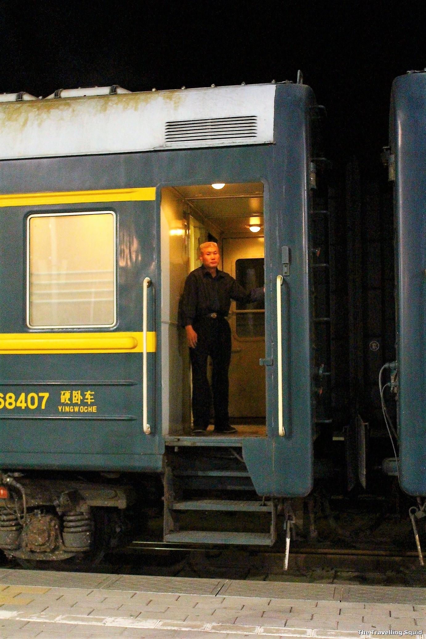 Trans siberian attendant train
