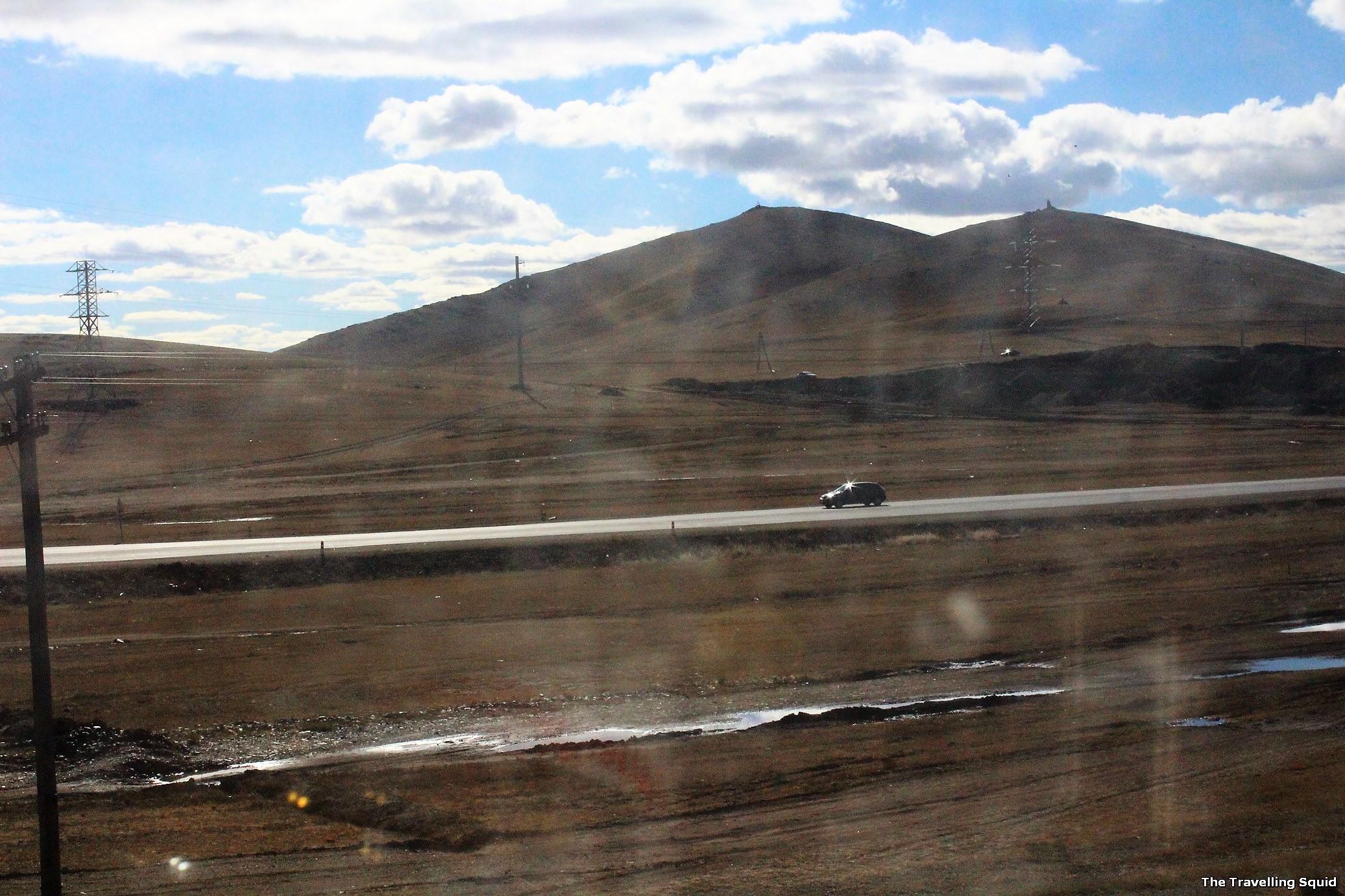 mongolia highway trans siberian