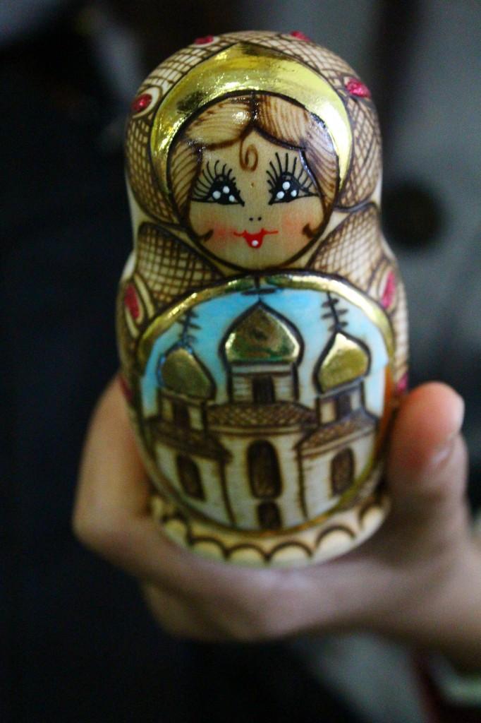 Russia doll souvenir