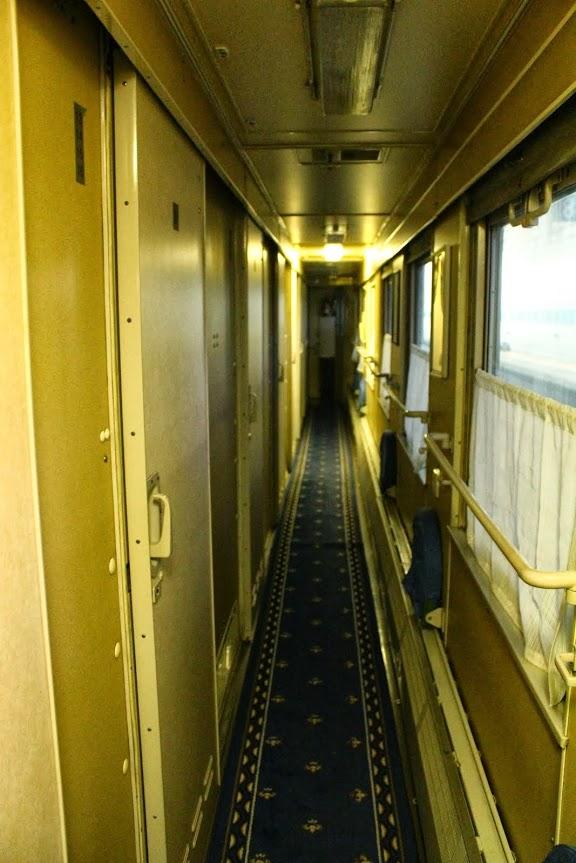 transiberian second class hallway