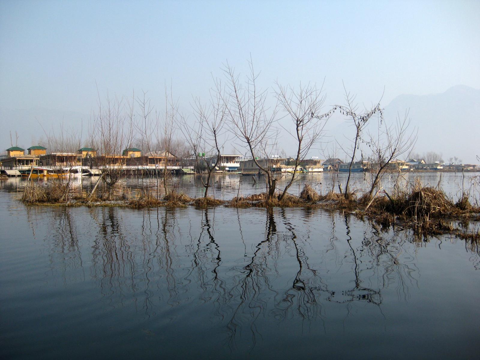 Dal lake kashmir srinagar