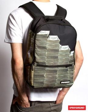 backpack money