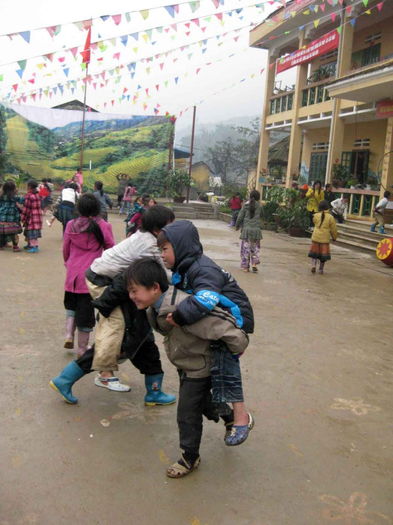 Sapa children minority schools