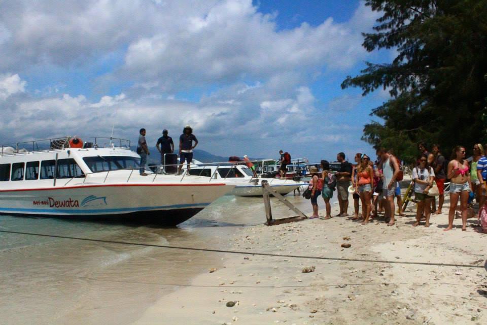 bali to gili island fast boat