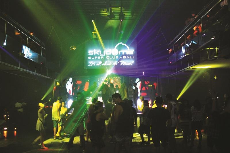 Sky Dome Super Club Bali
