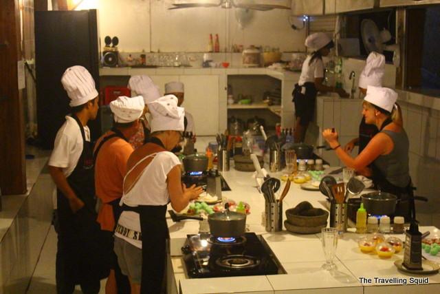 gili trawangan cooking school