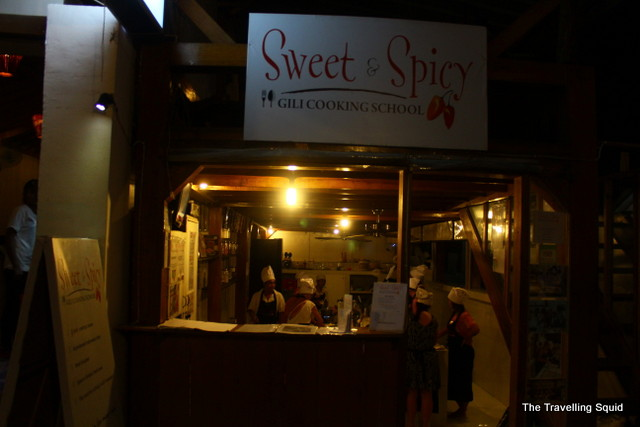 sweet and spicy gili cooking school