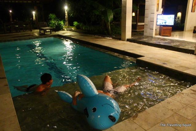 gili trawangan luxury villa pool