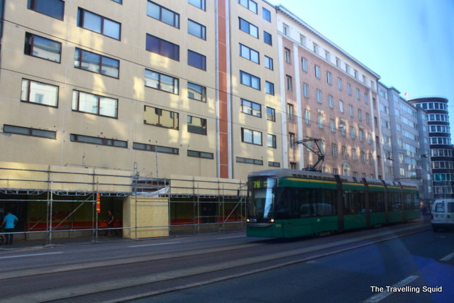 helsinki tram transport