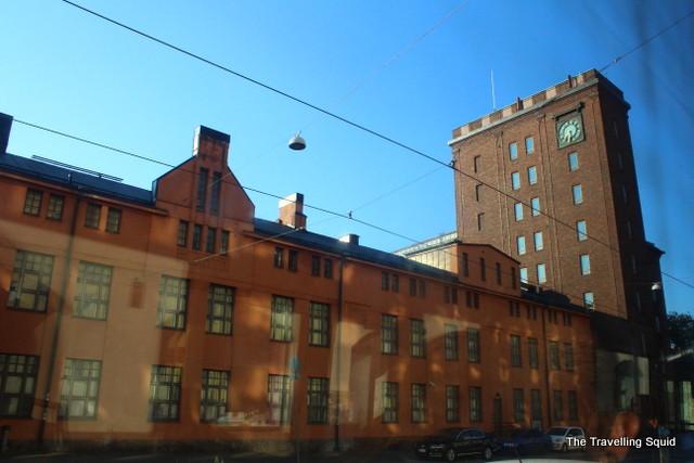 Helsinki city sights morning