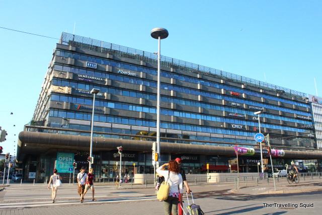 Rautatientori helsinki shopping mall