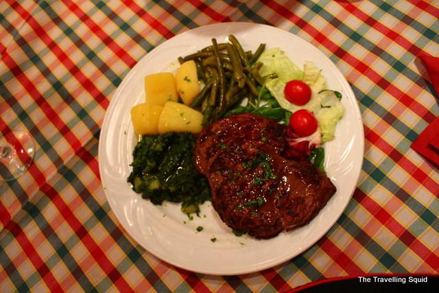 croatian beef steak split