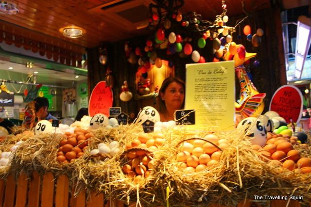 la boqueri barcelona tapas eggs