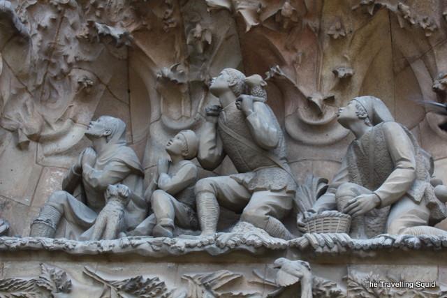 La Sagrada Familia barcelona spain