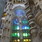 In pictures (2) -The interior of La Sagrada Familia and how to get there