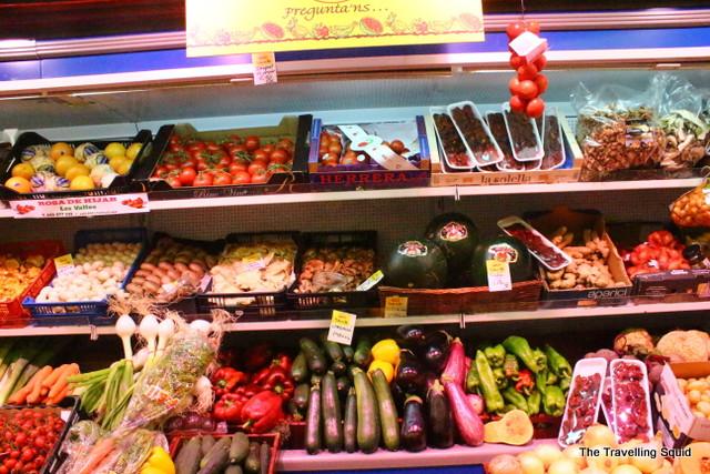 mercat de st antoni vegetables