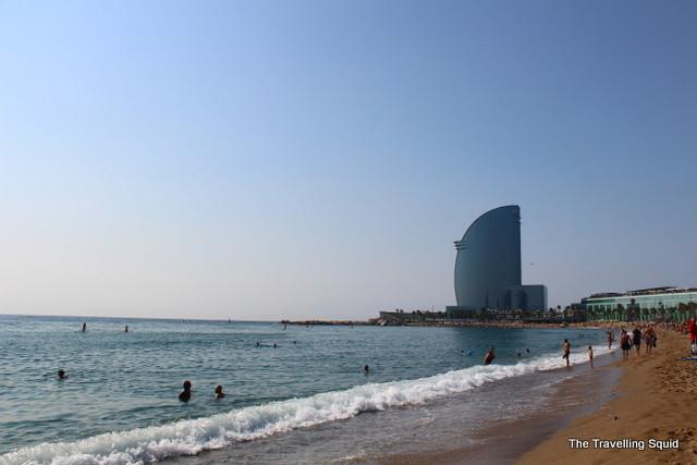 w hotel barceloneta beach