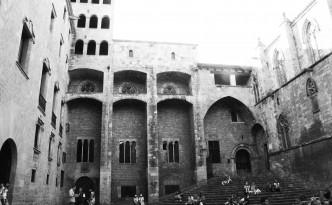 gothic quarter barcelona 1960s