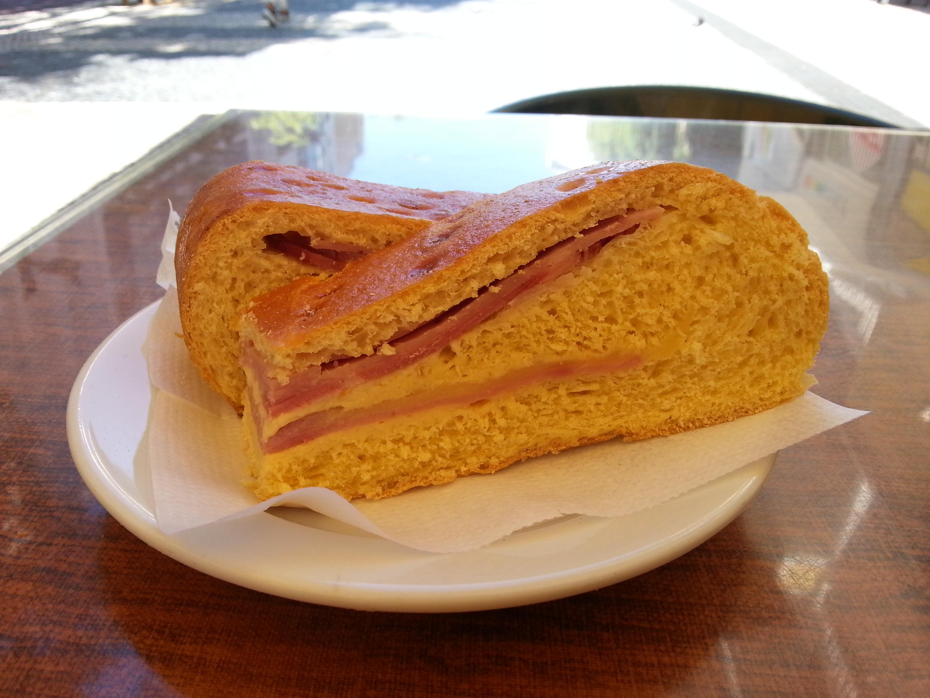nicola bakery lisbon ham and cheese