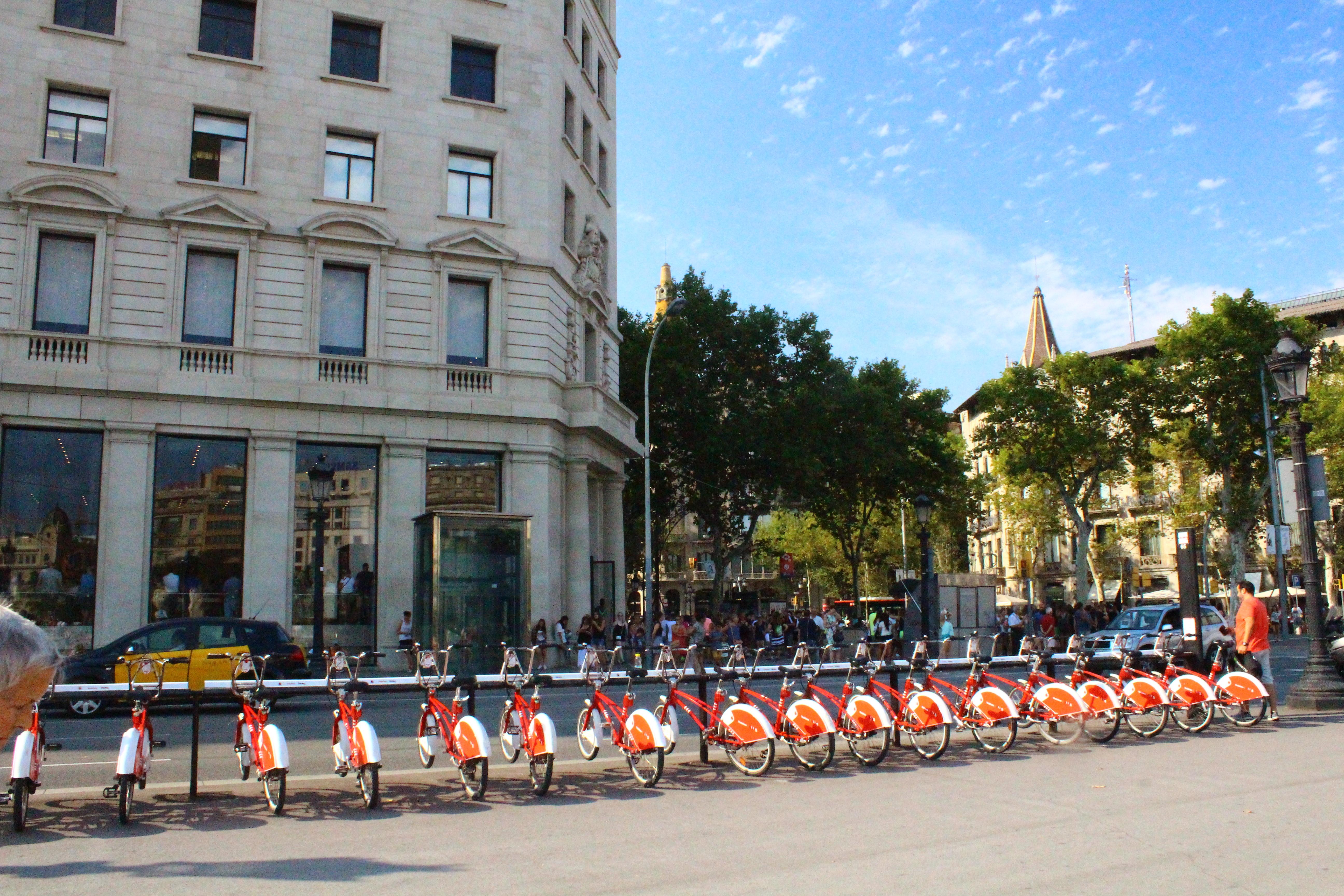 Bicing barcelona travel