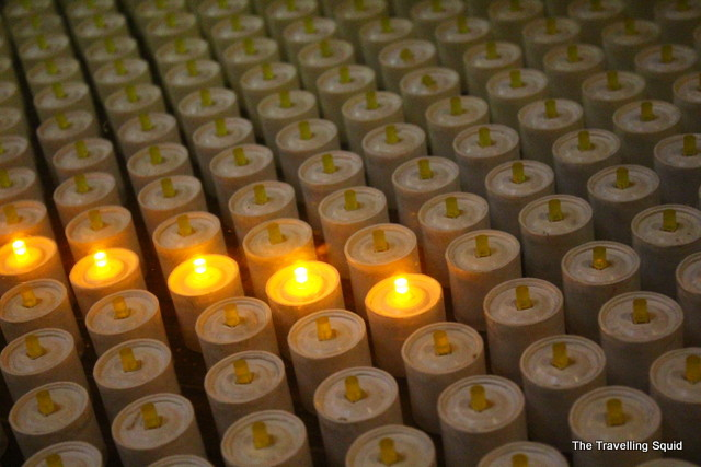 Barcelona Cathedral candles