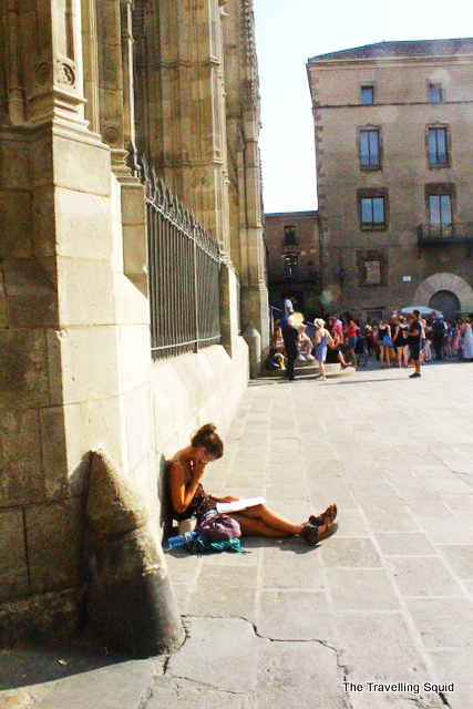 Barcelona Cathedral facade