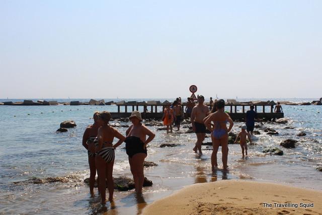 barceloneta beach swimsuit bikini