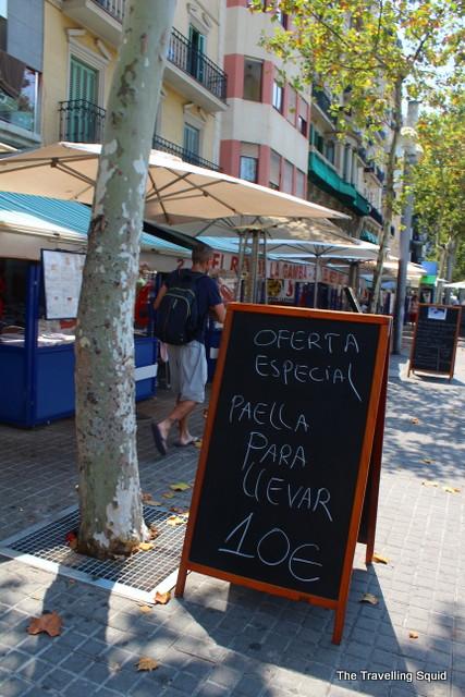 barceloneta paella tourist trap