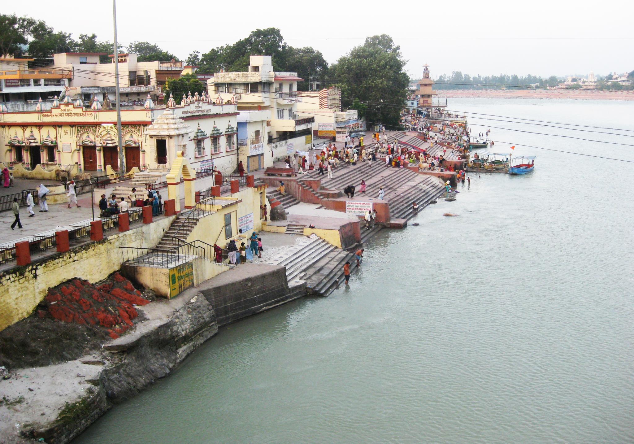rishikesh ganges river india
