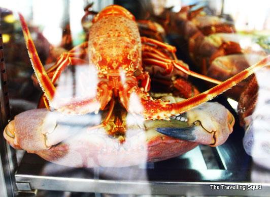 rua augusta baixa lisbon lobster
