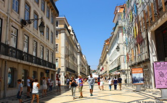 rua augusta baixa lisbon